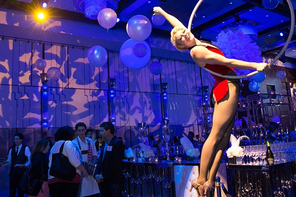 aerialists and specialty entertainment from hank lane music