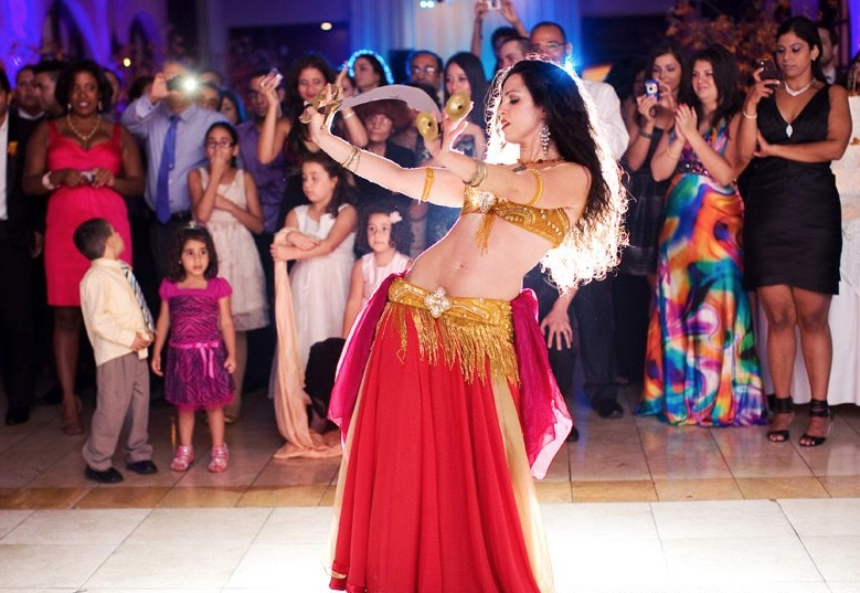 belly dancer special events