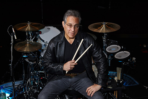 E Street Band drummer and Rock & Roll Hall of Famer Max Weinberg