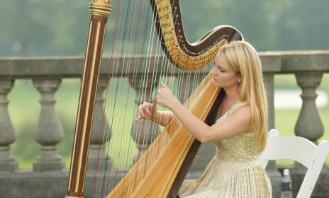 hank-lane-wedding-ceremony-harpist