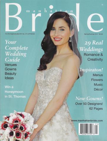 Manhattan Bride Magazine
